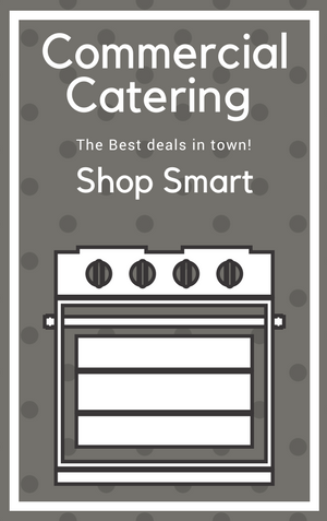 Shop smart with our catering equipment